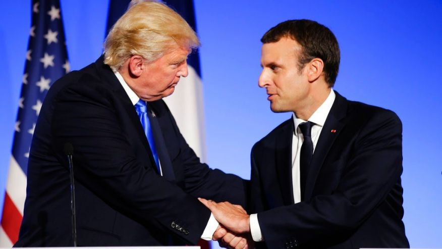 Macron: My charm may have changed Trump's mind on climate change https://t.co/HxDJQwgBE5 https://t.co/9iDj2a5NzQ
