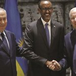 Israel PM, president in rare Kagame honour