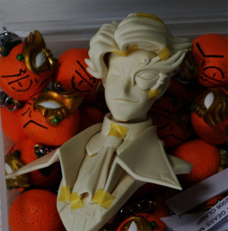 ジェレミア卿 仮組&オレンジ量産終了! オレンジ君は生産方法変更の為、少し値上げさせて下さい すいません!すいません!