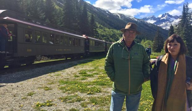 Discovering writer Paul Theroux at Skagway's North Words