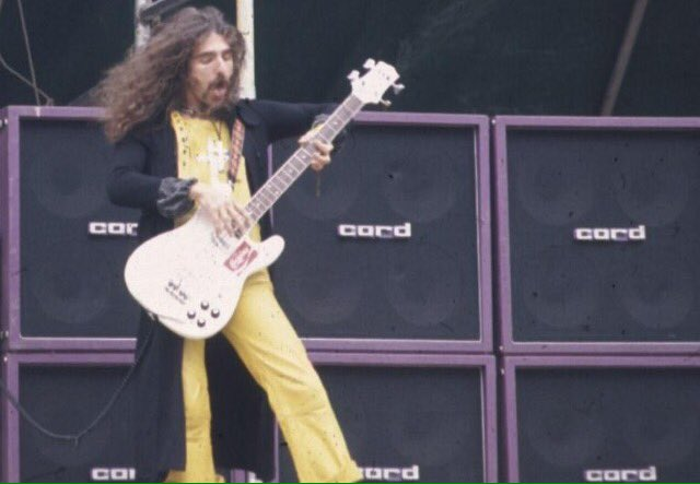 Happy Birthday to Geezer Butler who turns 68 today.