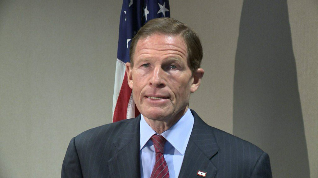 Blumenthal pushes to fund care for wounded Ukrainian soldiers
