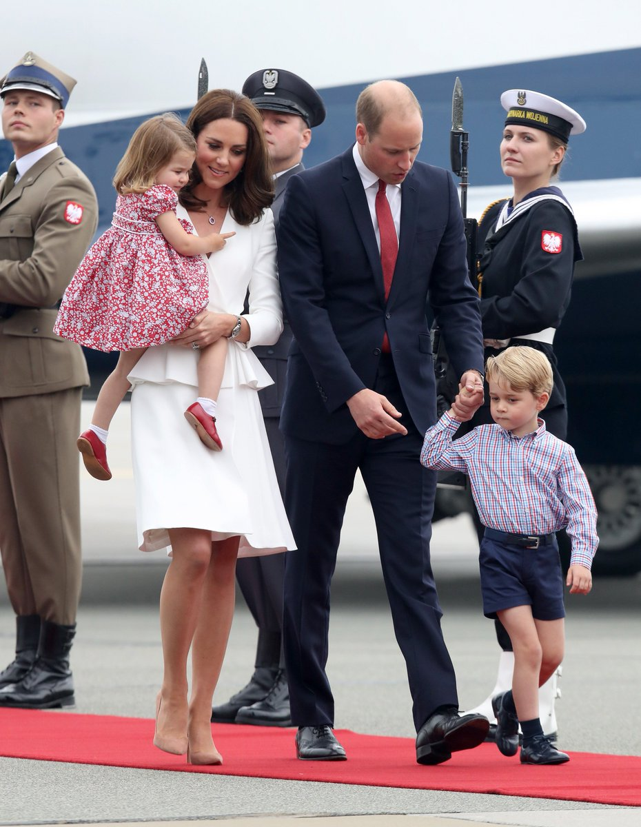 The Royals have arrived in Warsaw! #RoyalVisitPoland