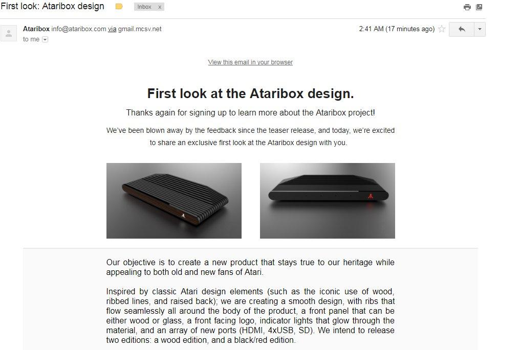 #Ataribox
