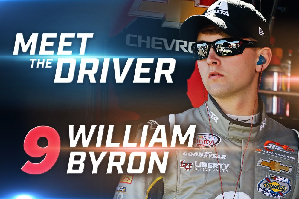 MEET THE DRIVER: @WilliamByron https://t.co/MVYF1QAoXt #Federated400 #WhosYourDriver https://t.co/ozVNu95cMJ