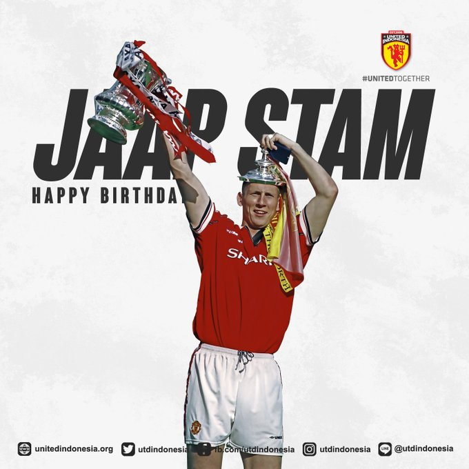 Happy birthday Jaap Stam. One of the best defender ever.