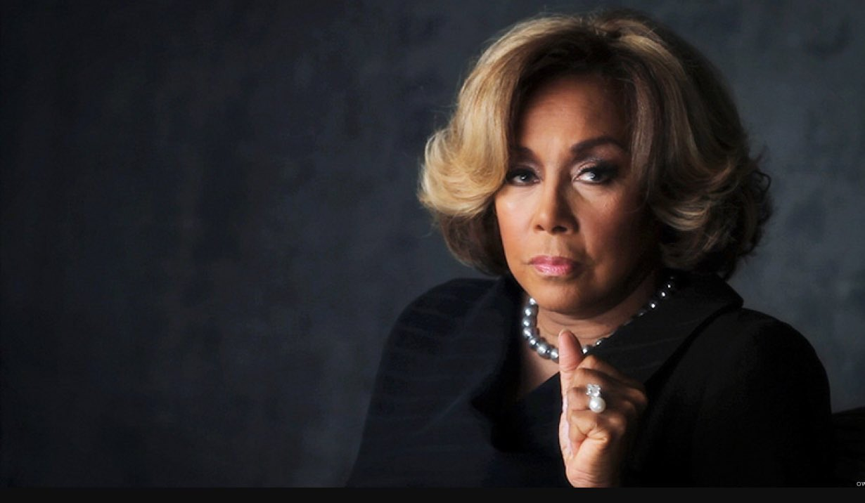 "Happy 82nd Birthday to the Legend, the flawless Diahann Carroll on ""Dynasty.\"""