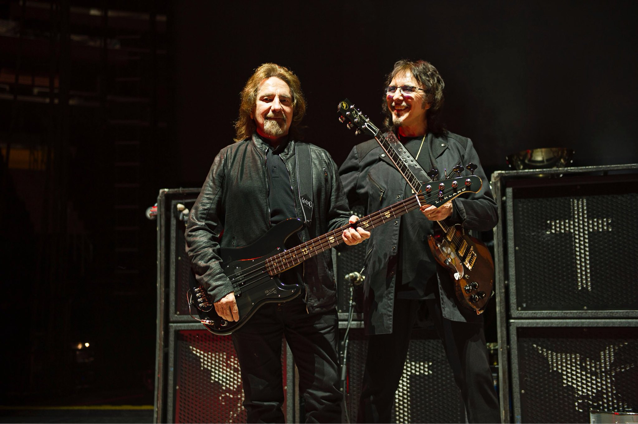 Happy Birthday to my dear friend Geezer Butler. The best bass player & lyricist in the world!!! Love ya mate.