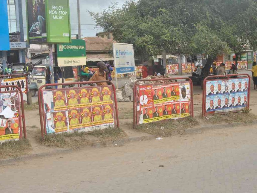 Kingi accuses Jubilee politicians of defacing ODM posters before Uhuru visit