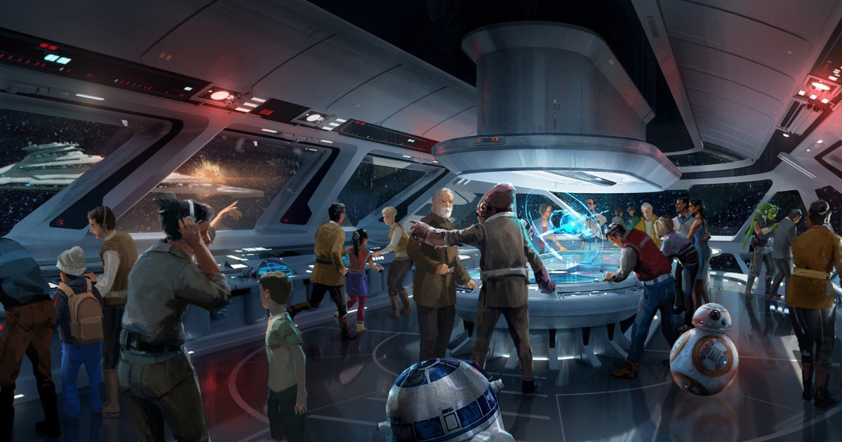 New details about Disney theme parks' StarWars land have been revealed (!!!):