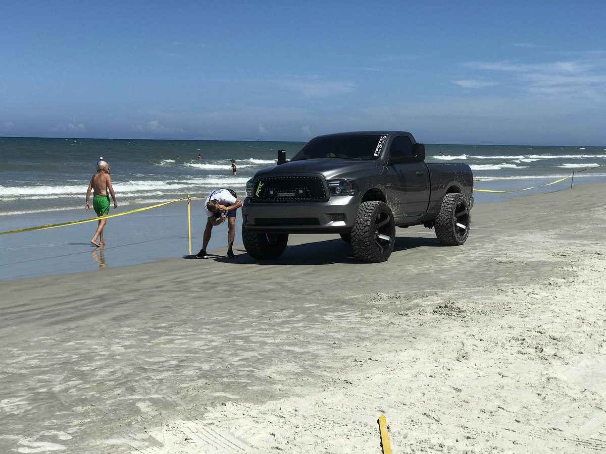 Boy in 'very serious' condition after being run over by truck on Ormond Beach