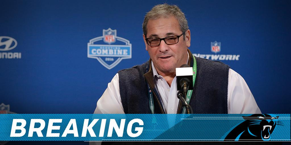 Panthers fire GM Dave Gettleman: https://t.co/PQE0vQR2UW https://t.co/srq75DqHTW