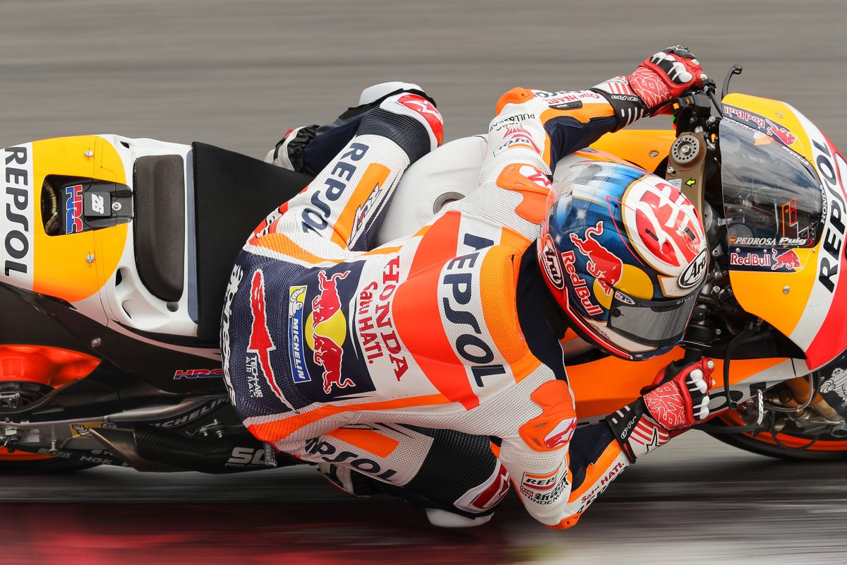 test Twitter Media - .@marcmarquez93 and @26_DaniPedrosa in action on the first of two days' testing at Brno! #RepsolHondaTeam #NeverStopWorking #BrnoTest #Day1 https://t.co/vvMJg0lk0H