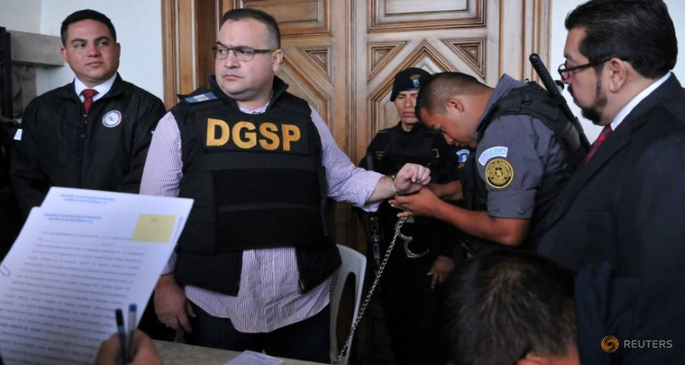 Disgraced Mexican ex-governor extradited from Guatemala