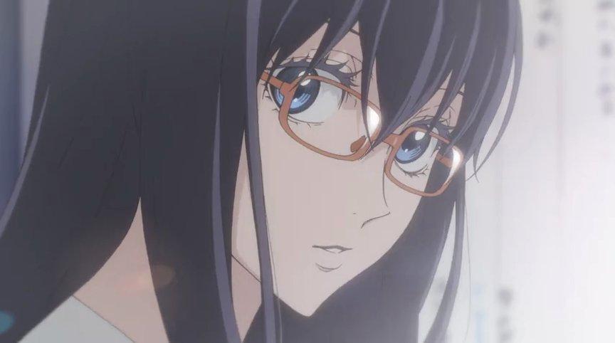 アニメでこうやってしっかり眼鏡を描いてくれるところ見てると凄く興奮してしまうよね???ちなみにタイトルはボールルームへよ
