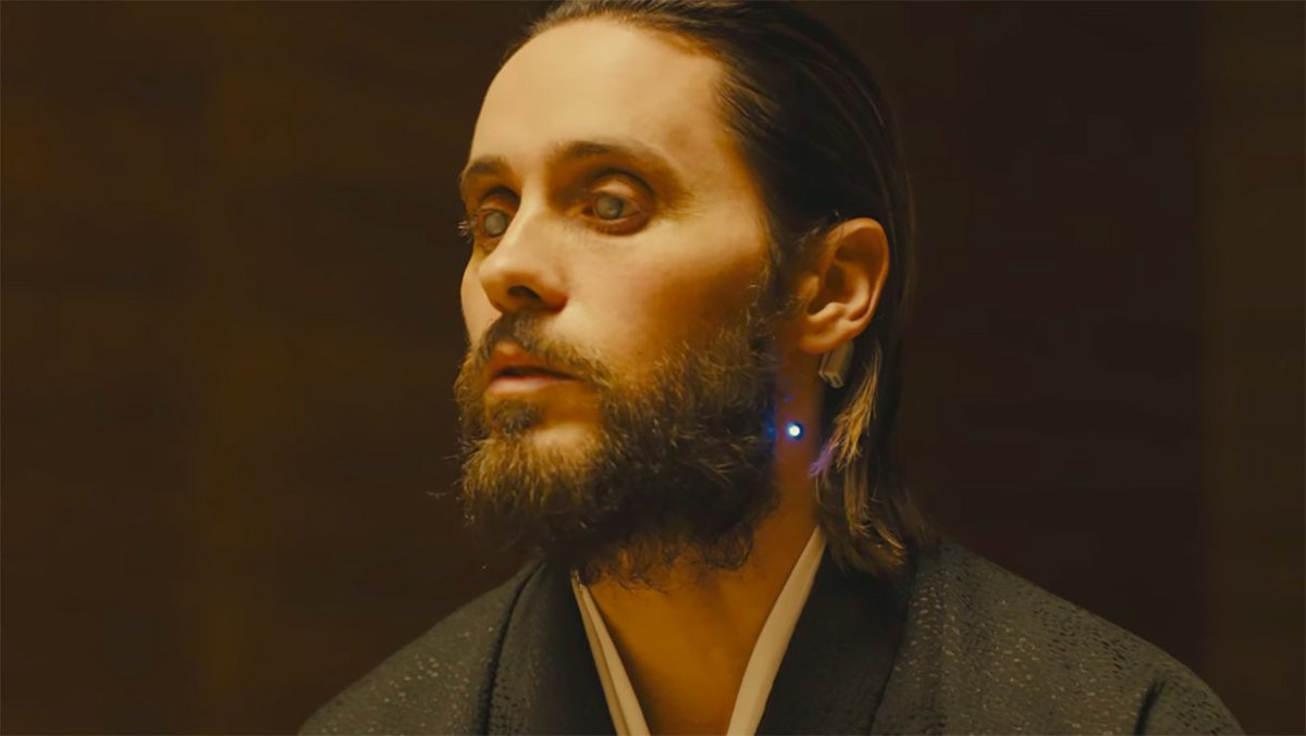 #BladeRunner2049 trailer shows more of Jared Leto's replicants
