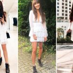 Fashion lovers are going wild for Boohoo's ruffled skater dress… and it's a bargain at £20