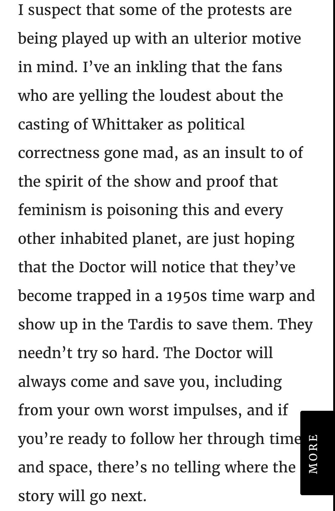 On the casting of the new Doctor: https://t.co/scNruitwp2 #jodiewhittaker #doctorwho13 https://t.co/VfEMUcpzYt