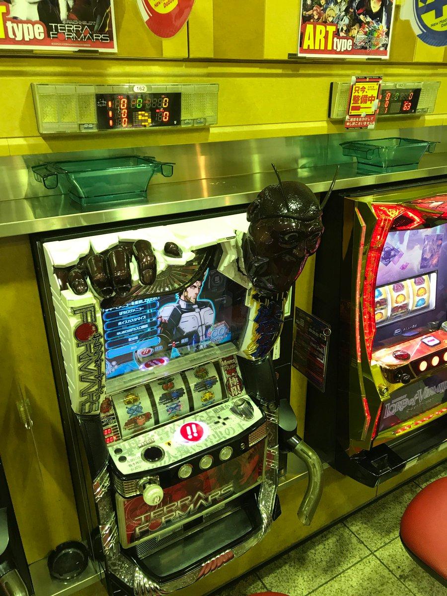 パワーアミューズメントゴー大府店20円に麻雀格闘倶楽部5円にテラフォーマーズ引越し完了👌👌今回はお客様のご要望でした来週