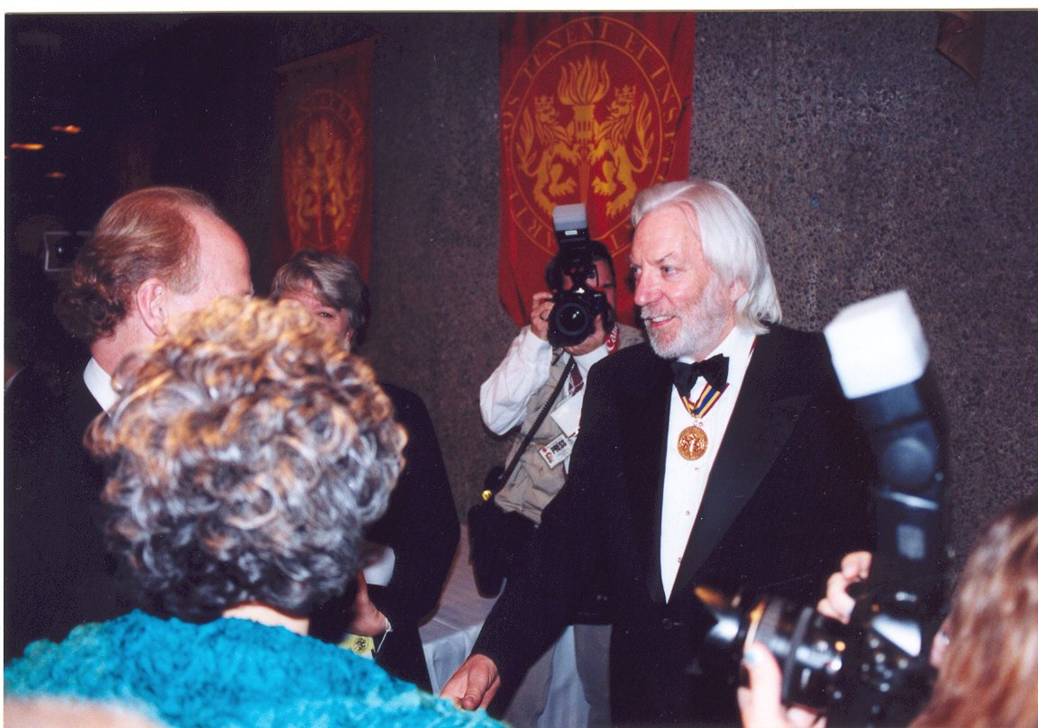 Happy Birthday to laureate Donald Sutherland!  Photo: GGPAA Archives