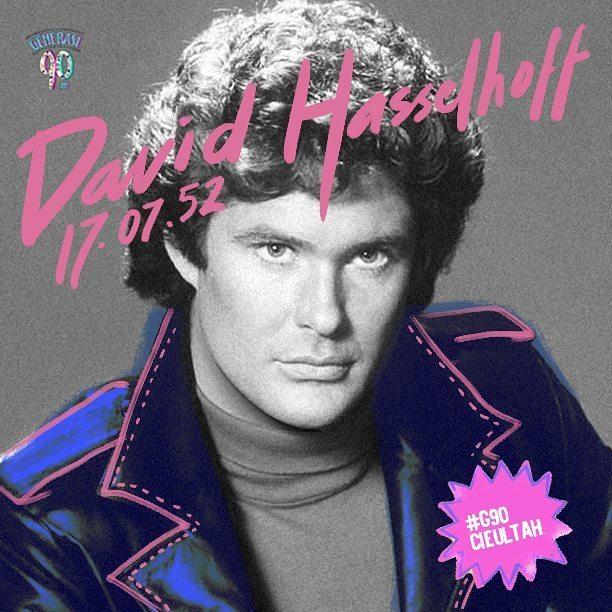 David Hasselhoff (Baywatch, Knight Rider) hari ini berulang tahun. Happy Birthday om Hasselhoff!!!