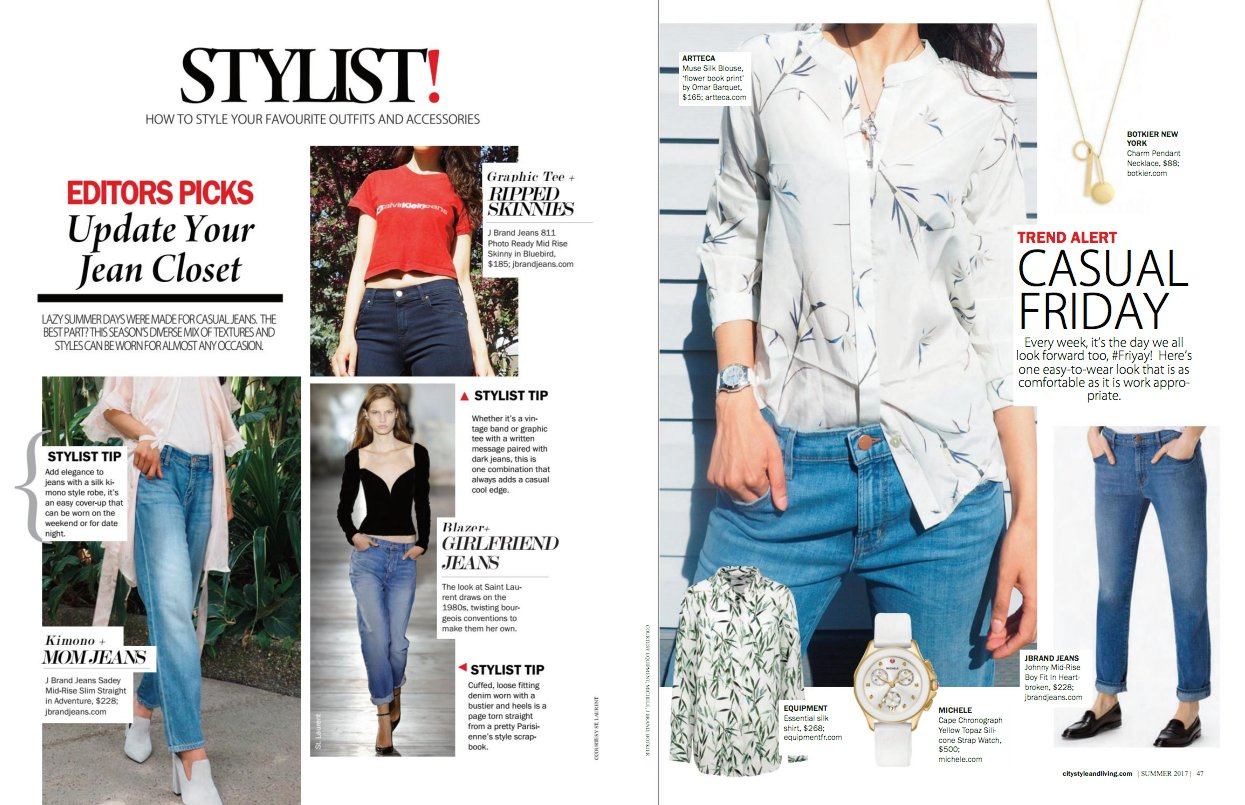 Excited to be in the summer issue of @citystylemag shttps://issuu.com/citystyleandlivingmagazine/docs/citystyleandliving_summer2017/46 #ootd https://t.co/zJPMAypXoc