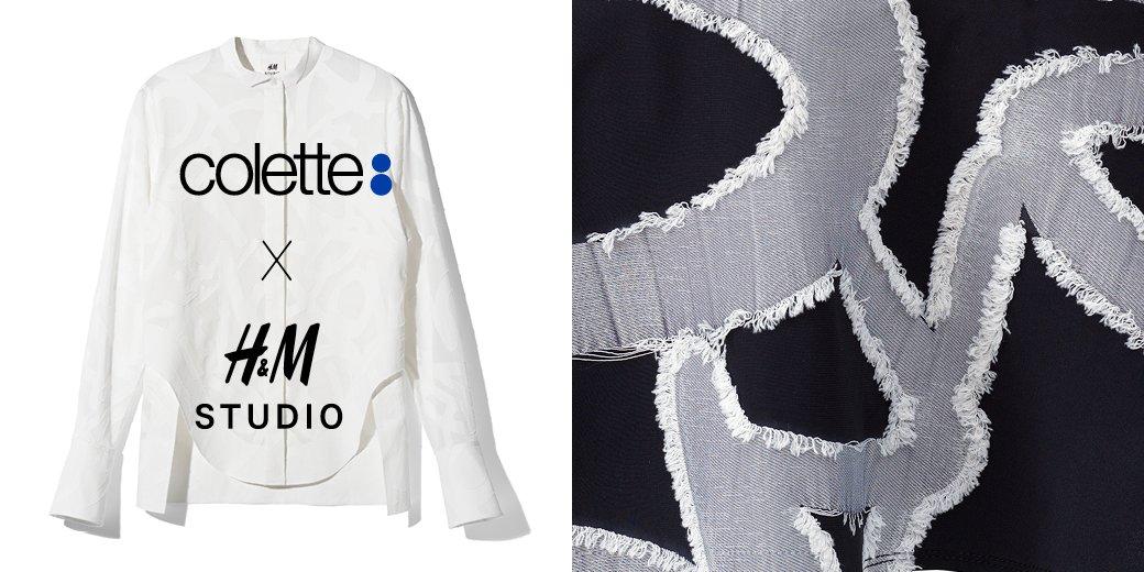 H&M Studio x colette out August 21 #HMStudio @coletteparis https://t.co/lhjuDyLRAW
