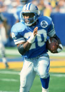 One of the best back in the NFL birthday is today...happy birthday Barry Sanders