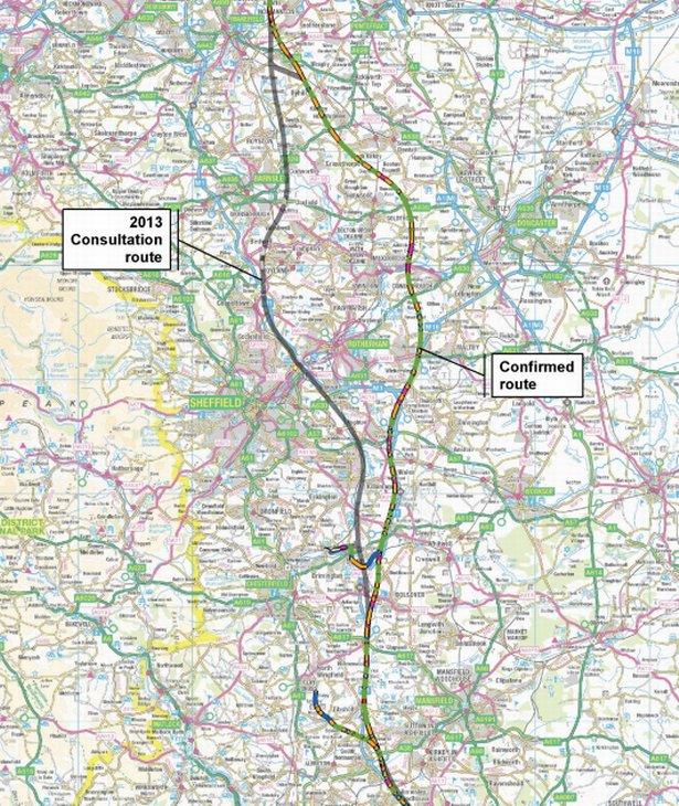 There's fury after it emerged the HS2 rail line will bypass Sheffield https://t.co/l7FYFcZG7E https://t.co/mtm7oXWOB6