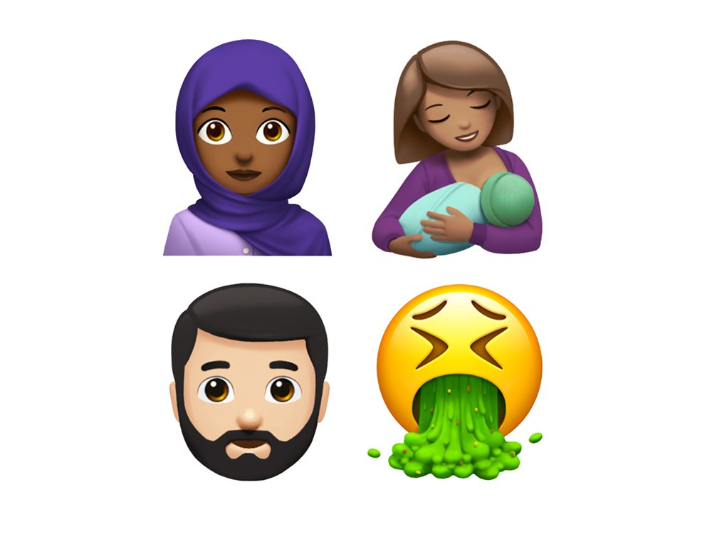 From breastfeeding to beards, Apple reveals new emojis for World Emoji Day via @nparts