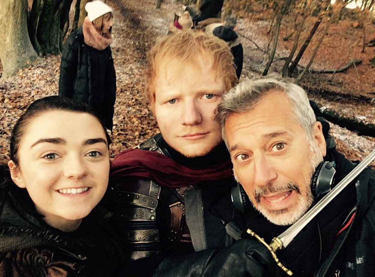 �� @EdSheeran made his #GameOfThrones debut last night: https://t.co/NY7WB9ZlF2 https://t.co/vHzu3uKVPi