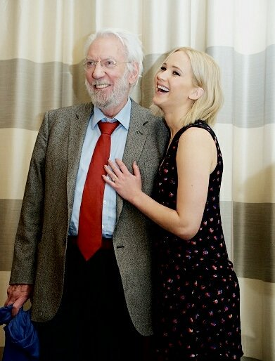 Happy birthday to Donald Sutherland an amazing and talented person !