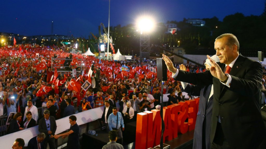 Turkey extends state of emergency after coup anniversary