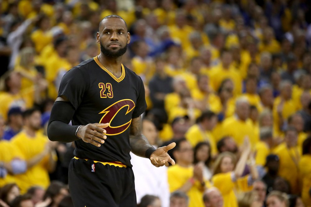 LeBron is frustrated with Cavs' decisions this offseason, per @JeffZillgitt https://t.co/PC7A73V09f https://t.co/05QmAlNnsN