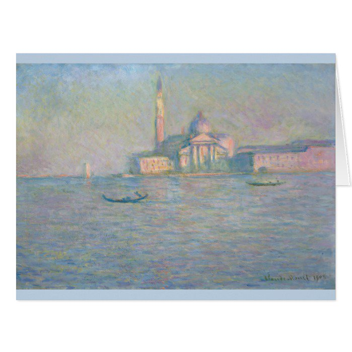 Church of San Giorgio Maggiore Venice #Monet Greeting Cards  https://t.co/fQSqPYpE4W https://t.co/sI8BH75lLW