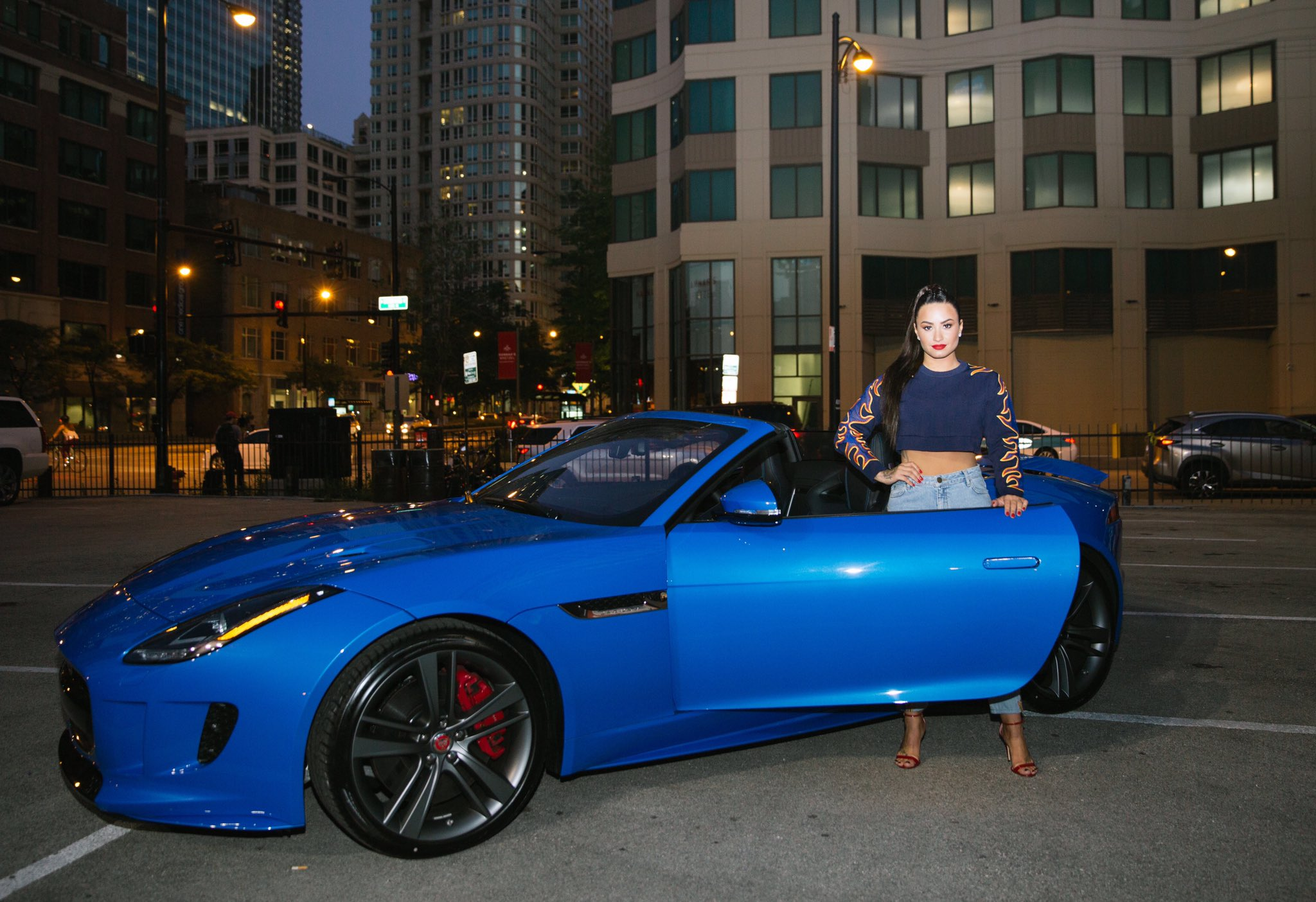 Thank you @JaguarUSA for getting me to my House Parties in style with the F-TYPE! #SorryNotSorry #ad https://t.co/nDEvKd7gew