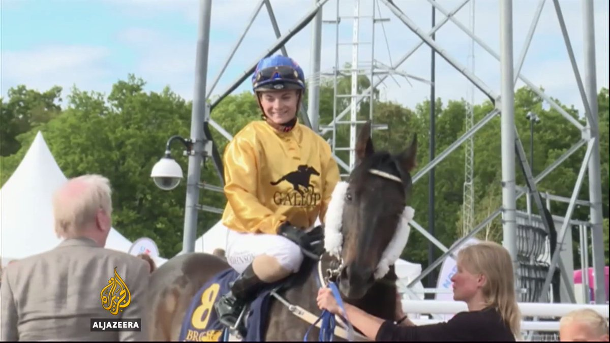 Sweden holds first female-only jockeys championship