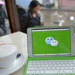 China's WeChat fans can chat on the go in Europe