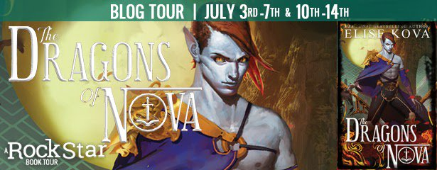 The Dragons of Nova by Elise Kova (Blog Tour Guest Post & #Giveaway)