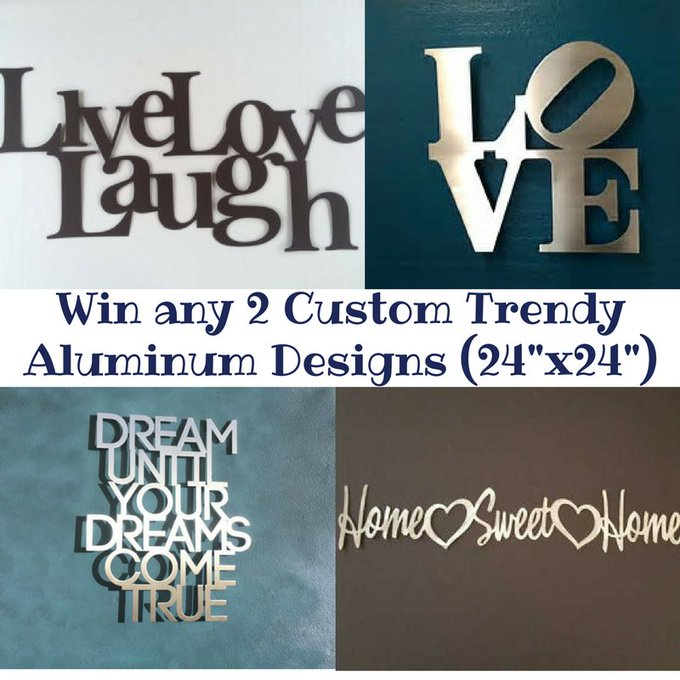Custom Aluminum Signs by FoamCorePrint-US-Ends 7/14