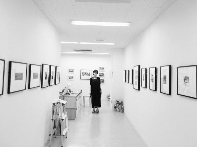 1 pic. おはようございます☀神保町画廊は13時からopen!写真展は残り4日となりました。私は16時位からの在廊です😚⭐️神保町画廊にて よわむし とme写真集も販売しています!展示作品も販売中!