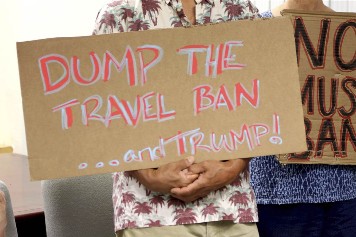 Ruling expected any day now on limits to Trump administration travel ban