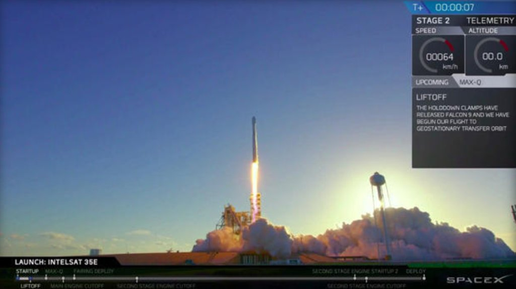 After last-second delays Sunday and Monday, 3rd time's the charm for SpaceX comsat launch: