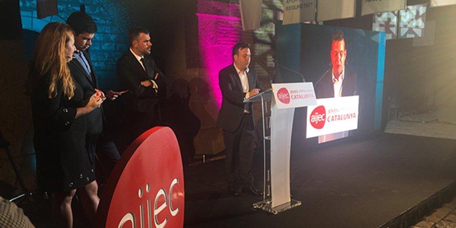 test Twitter Media - Jose Elias Navarro CEO de @ASPYPrevencion y @audaxenergia y Mejor Joven Empresario AIJEC Joves Empresaris de Catalunya #Felicidades https://t.co/0bRCJj70ty