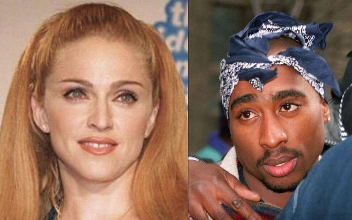 Tupac Shakur broke up with Madonna because she's white, his prison letter suggests