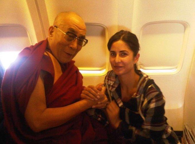 Katrina Kaif wishes the Dalai Lama happy birthday on Instagram: