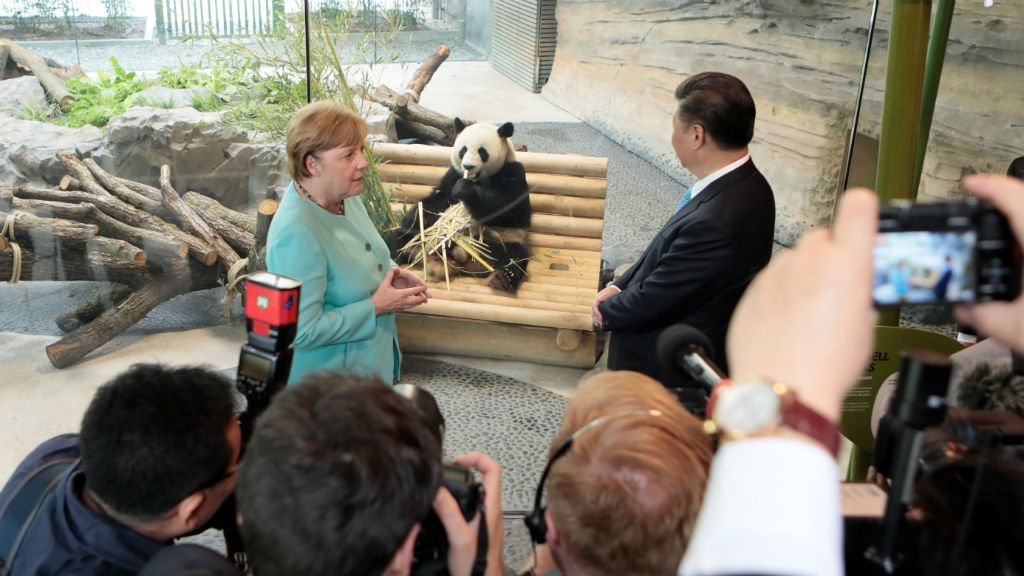 Chinese President Xi Jinping's 'panda diplomacy' with Germany