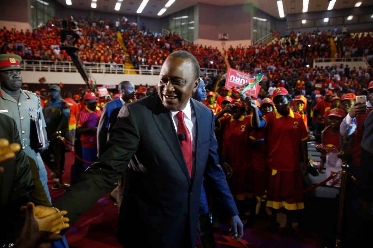 Kenya's President Uhuru Kenyatta pulls out of televised election debates