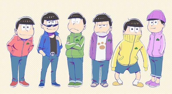 "【PASH!+】『おそ松さん』6つ子+トト子のキャストが登壇のスペシャルイベントが10月6日開催6つ子の新衣装""ジャージ"