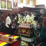 Ssebaana's body at KCCA: Tributes paid to former mayor